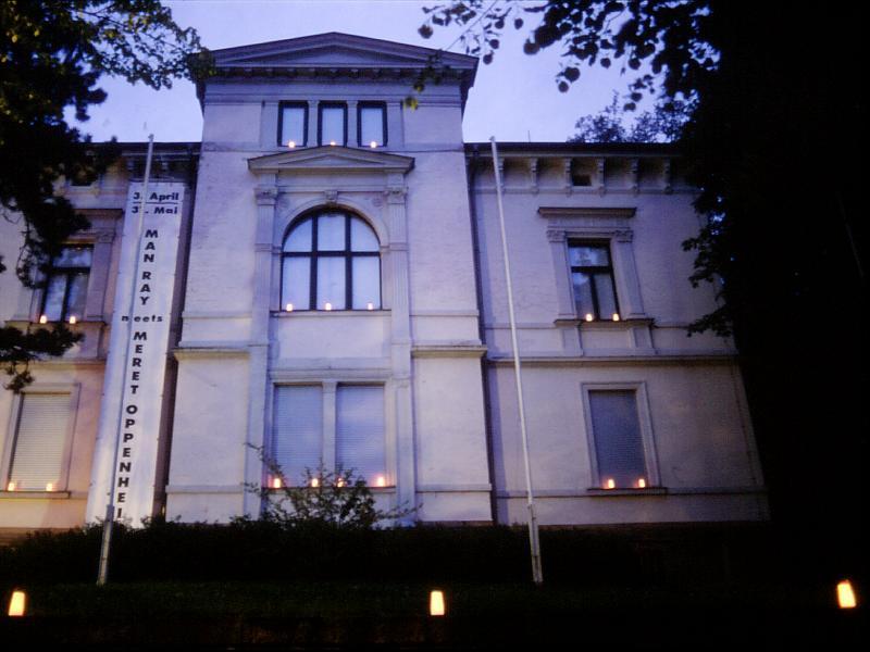 ohne Titel, Lichtaktion anlässlich der Museumsnacht in Apolda, Apolda Avantgarde, Apolda