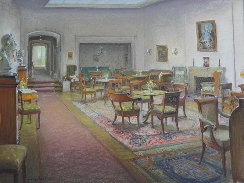 'Hausgeister - Künstler sammeln Kunst', Akademie der Künste, Sachsen-Anhalt, Halle/Saale